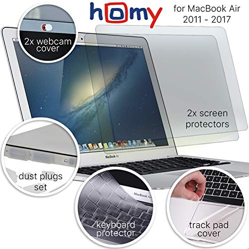 Homy Full Protection Kit for MacBook Air 13 inch
