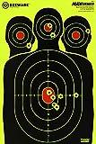 BEEWARE Shooting Targets Largest Splatter Guaranteed 12 x 18 Silhouette Reactive Splatter Targets for Shooting
