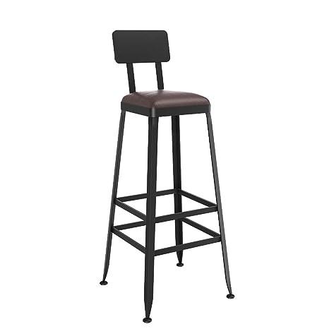 Amazon.com: Mei Xu – Silla de comedor con taburetes altos ...