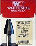 Whiteside Router Bits 5802 Straight Cove Vertical Panel Bit with 1-Inch Large Diameter and 1-1/2-Inch Cutting Length