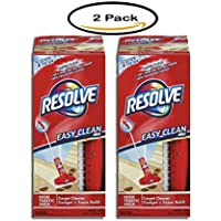 Pack of 2 - RESOLVE Easy Clean Carpet Cleaning System W/Brush, Foam, 22 oz