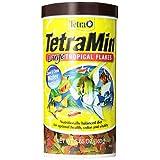 Tetra 16155 TetraMin Large Flakes, 5.65-Ounce, 1-Liter