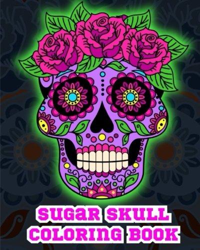 Sugar Skull Coloring Book. -