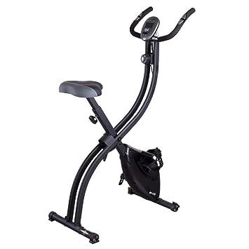 WZB-Fitness Equipment Durable Unisex Plegable Bicicleta estática ...