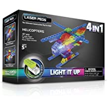 Laser Pegs 4-in-1 Helicopter Building Set