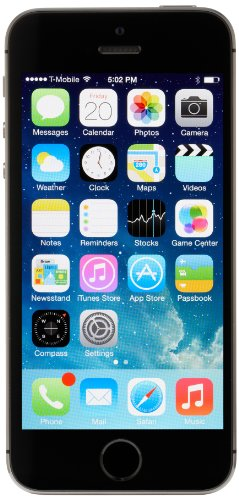 Apple iPhone 5S UNLOCKED Spacegrau / Gold / Silber 16/32/64GB GRATIS SIM-Karte (16GB, Spacegrau)