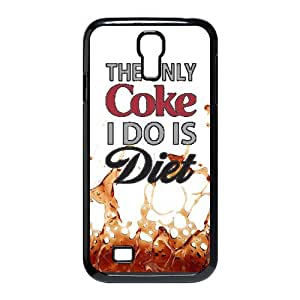 The Only Coke I Do Is Diet picture black plastic case For SamSung Galaxy S4 I9500