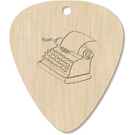 Azeeda 7 x Máquina de Escribir Guitarra Púa (GP00012987)