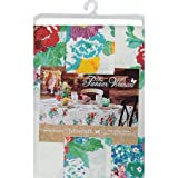 Simple and Elegant Country Garden Tablecloth Perfect for Indoor/Outdoor use (60 X 102 in)