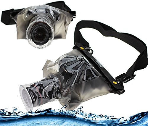 Navitech Waterproof Underwater Housing Case/Cover Pouch Dry Bag Compatible with The Nikon B700 ()