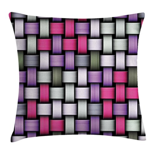 Abstract Throw Pillow Cushion Cover by Ambesonne, Knot