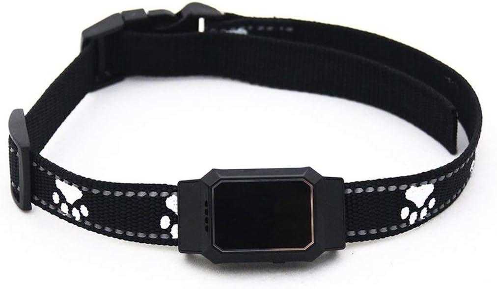 LouiseEvel215 GPS a Prueba de Agua gsm Sistema de Seguimiento de Mascotas para Gatos Perros APLICACIÓN Gratuita para móvil Perro Gato Mascotas Trazador Anti Lost Collar Smart Finder