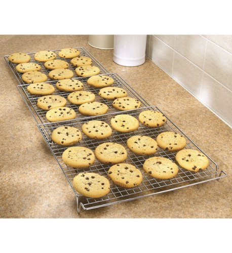 HomyDelight Expandable Cooling Rack 3.5 lbs 35 inch 1.5 inch 13.75 inch