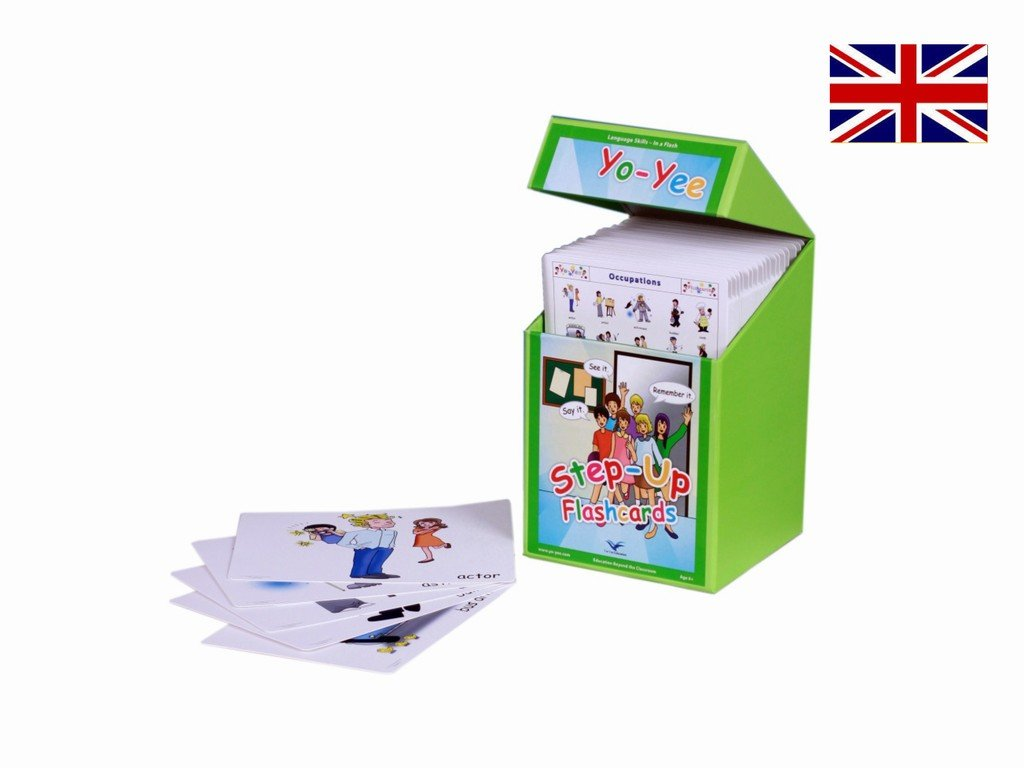 English Step Up Flash Cards Kit to Teach Elementary Level Students