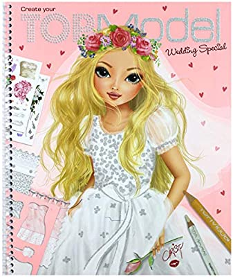 Top Model Wedding Boyama Kitabi 6597 Amazon Com Tr