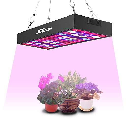 $27.99 JCBritw LED Grow Light for Indoor Plant Growing Lamp Full Spectrum 30W Pro with Daisy Chain Hydroponic Greenhouse Hanging Kit Light Fixture for Veg and Flower 2019