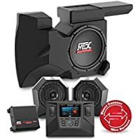 2016 to 2017 Polaris RZR XP4 Turbo Two Speaker, Dual Amplifier, and Single Subwoofer Audio System By MTX Audio RZRSYSTEM2