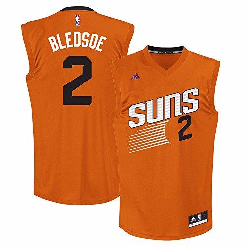 NBA Phoenix Suns Eric Bledsoe #2 Men's Replica Jersey, Medium, Orange