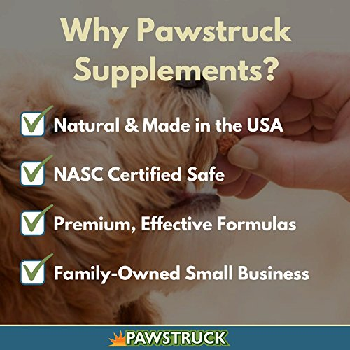 Natural Hip and Joint Supplement for Dogs in Bulk - Soft Chew Pain Relief & Prevention, Glucosamine For Dogs w/ Chondroitin & MSM for Healthy Canines, Made in USA (Large & Giant Dogs - 150 Count) by Pawstruck (Image #3)