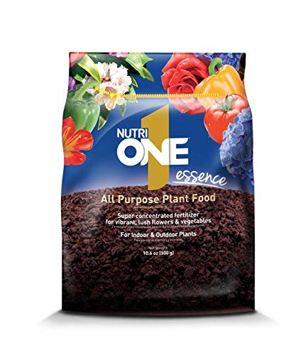 NutriONE 710200A All Purpose Food Essence for Indoor & Outdoor Plants, Flowers & Vegetables, 10.6 oz, - Essence Protein