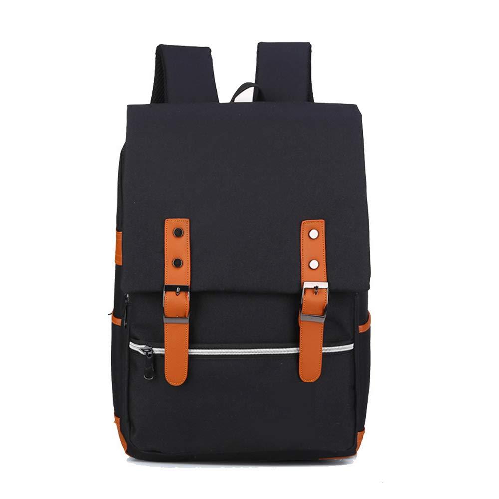 88ba6785f Black Travel Hiking Laptop Backpack Mens Vintage Canvas Backpack School  Laptop Bag Hiking Travel Rucksack Brown