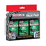 Finish Line Wet Bike Lubricant (Pack of 3), 4-Ounce