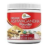 Grenera Organic Ashwagandha Capsules-120 Vegatarian Capsules/ 650 mg per Capsule - Made with Organic Ashwagandha Powder