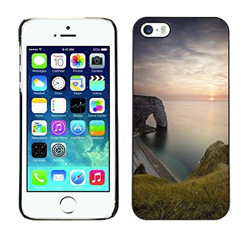 Hülle Case Schutzhülle Cover Premium Case // F00003383 Küste // Apple iPhone 5 5S 5G