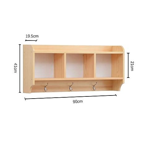 Amazon Com Wxl Solid Wood Wall Shelf Wall Cabinet Wall