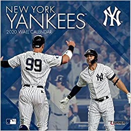 Yankees Home Opener 2020.New York Yankees 2020 Calendar Inc Lang Companies