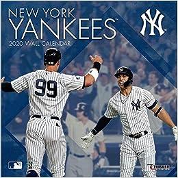 Ny Yankees 2020 Schedule.New York Yankees 2020 Calendar Inc Lang Companies