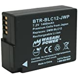 Wasabi Power Battery for Leica BP-DC12, BP-DC12-U, 18729 and Leica V-Lux 4, V-Lux (Typ 114)