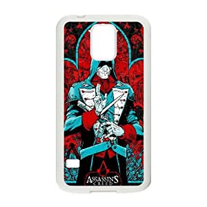 Assassin'S Creed Unity Samsung Galaxy S5 Cell Phone Case White Exquisite designs Phone Case KM5H4H56
