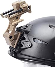 LIVIQILY Tactical Sports Helmets Mounting Bracket for Rhino NVG PVS-14/PVS-7 Night Vision Fast ACH PASGT MICH