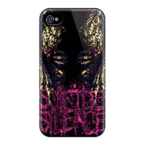 Iphone 4/4s Cases Covers Cases - Eco-friendly Packaging Suicide Silence Design