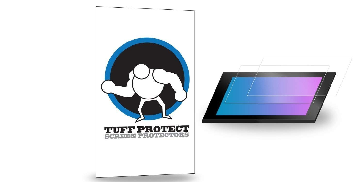 Tuff Protect Anti-Glare Screen Protectors for 2018 Nissan Rogue/Rogue Sport SL 7'' Color Touch Screen Navigation Screen