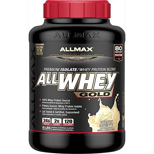ALLMAX Nutrition Allwhey Gold Vanilla Vanilla -- 5 lbs
