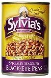 Sylvia's Black Eye Peas, 15 Ounce Package (Pack of 12)