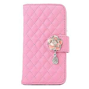 Bestpriceam (TM) Rhinestone Bling Flip Wallet Leather Case For Samsung Galaxy S5 i9600 (Pink)
