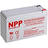NPP HR1228W FR 12V 28W High Rate Rechargeable Lead Acid UPS 12Volt 7.5Ah Battery