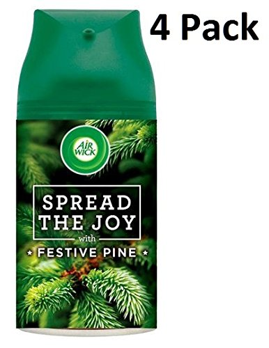 4 x Air Wick Freshmatic Max Automatic Spray Refill 250ml - Pine Reckitt Benckiser