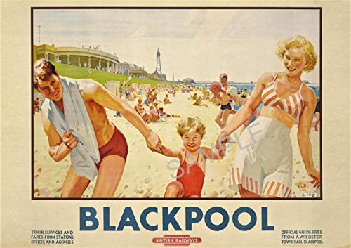 British Industries Travel Holiday Beautiful View Poster England UK Picture Print