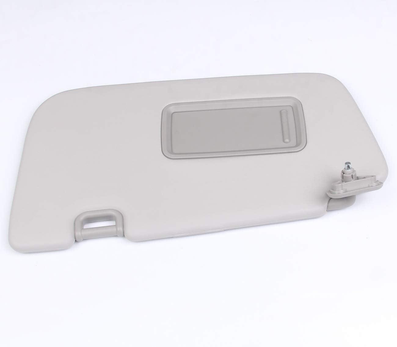 New Left Driver Side Sun Visor with Light For Subaru Impreza WRX STI 2008-2014 Replace # 92011FG032ME