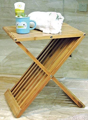 Diseño bambú taburete plegable – Madera taburete plegable silla ...