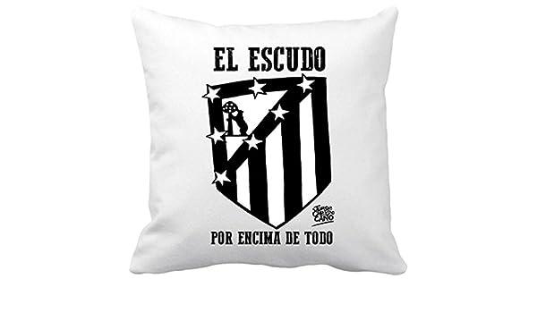 Diver Bebé Cojín con Relleno Atlético de Madrid el Escudo ...
