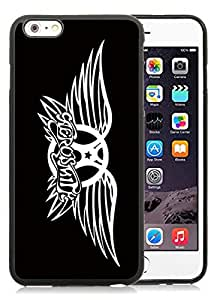 Special Custom iPhone 6 plus Case Aerosmith Black Personalized Picture iPhone 6 plus 5.5 Inch TPU Phone Case