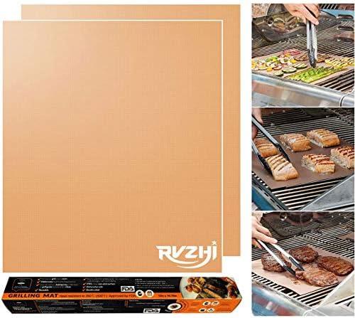 RVZHI Copper Grill Mat Non Stick product image