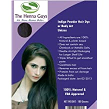 INDIGO POWDER Hair & Beard Dye / Color 3x100 grams - The Henna Guys®