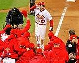 David Freese St. Louis Cardinals 2011 World Series Walk Off Home Run Celebration #3
