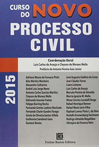 Curso do Novo Processo Civil